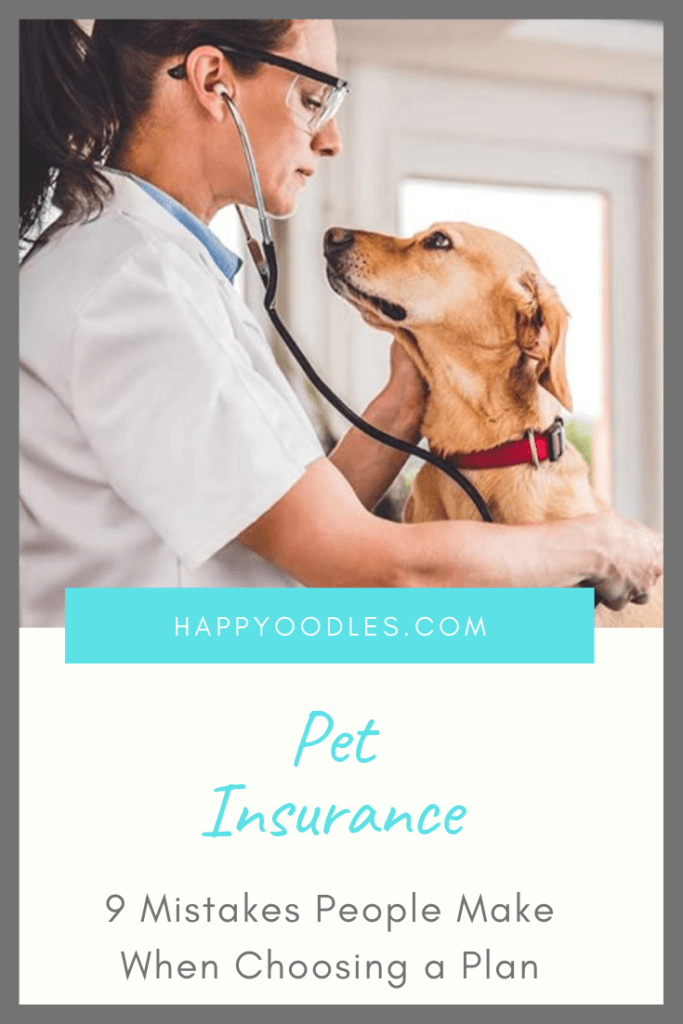 Common Pet Insurance Buying Mistakes Pin