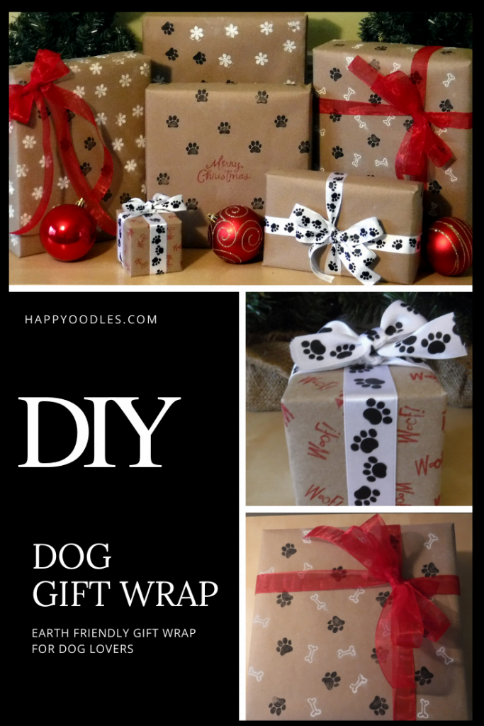 DIY Dog Gift Wrap