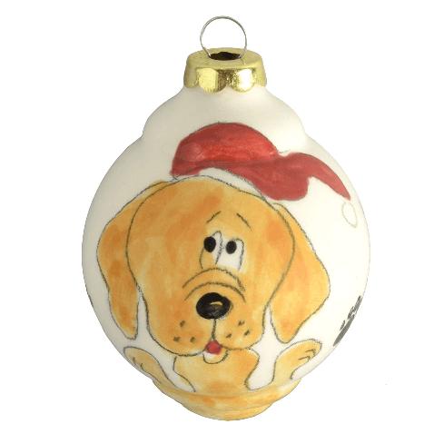 Retriever Dog Christmas Ornament