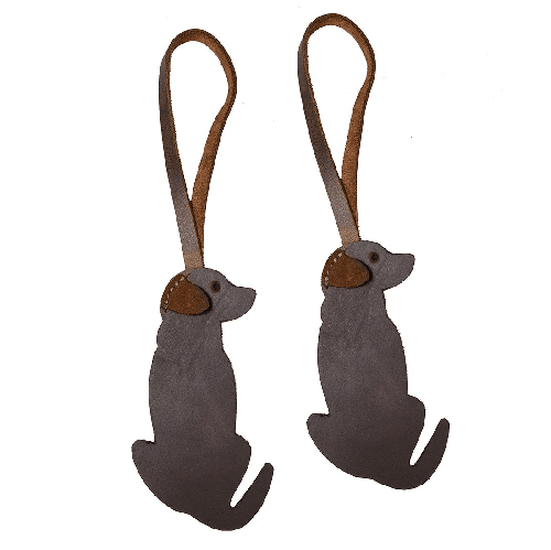 Leather Retriever Dog Christmas Ornament