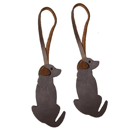 Leather Retriever Dog Christmas Ornament